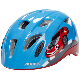 Alpina Ximo Flash Helmet Juniors red car